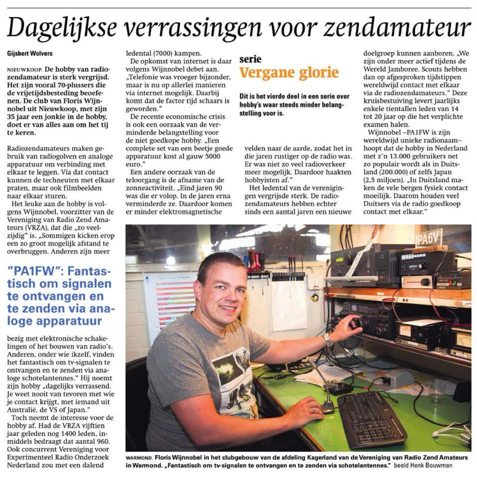 Floris in Refo dagblad